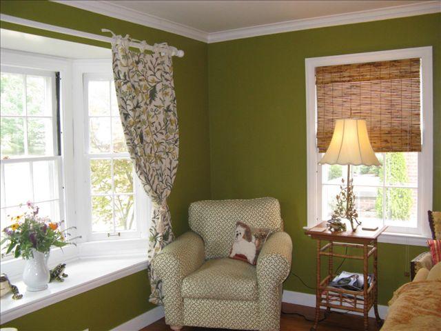 Living Room Makeover In Progress Going Green