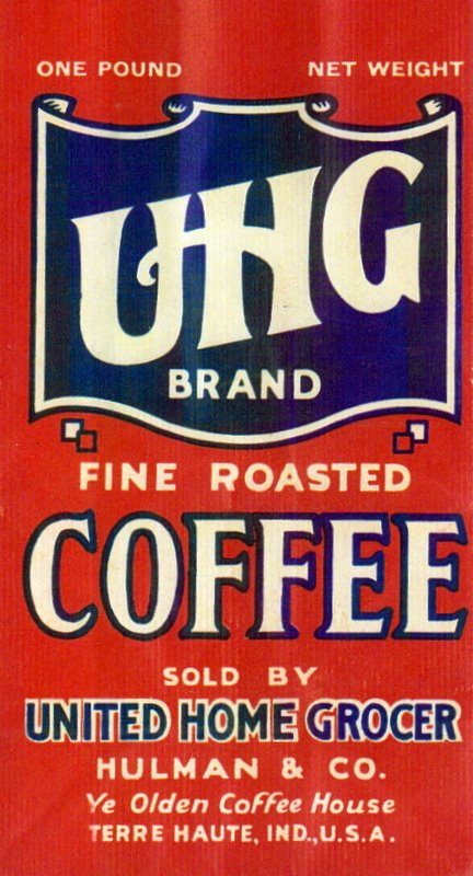 An easy project with reproduced vintage coffee labels for Does staples print stickers