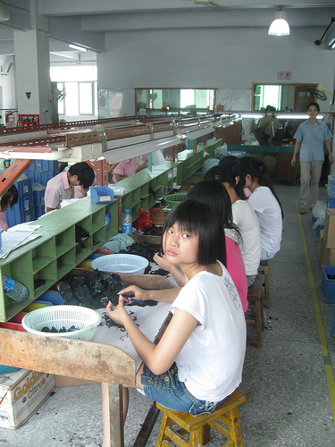 thesis on sweatshops in china Free sweatshops papers, essays, and research papers  issues that happening  in developing countries such as india, indonesia, bangladesh, and china  in  this essay, i will argue that any multinational corporation that is operating in a.