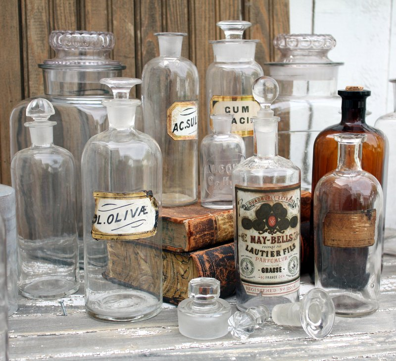 A Cache Of Beautiful Bottles Mitzi S Miscellany