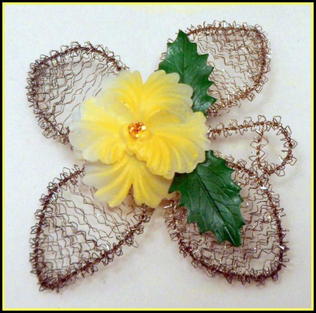 Celluloid flower