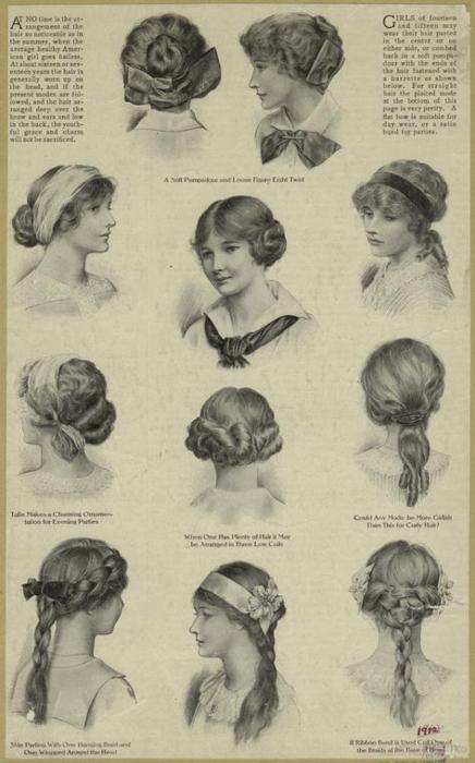 flight woman hair style