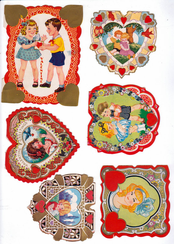 Beautiful Vintage Valentines Free Printables - Mitzi's ...