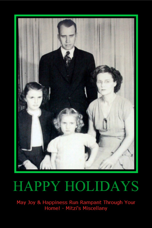 Happy Holidays Mitzis Miscellany