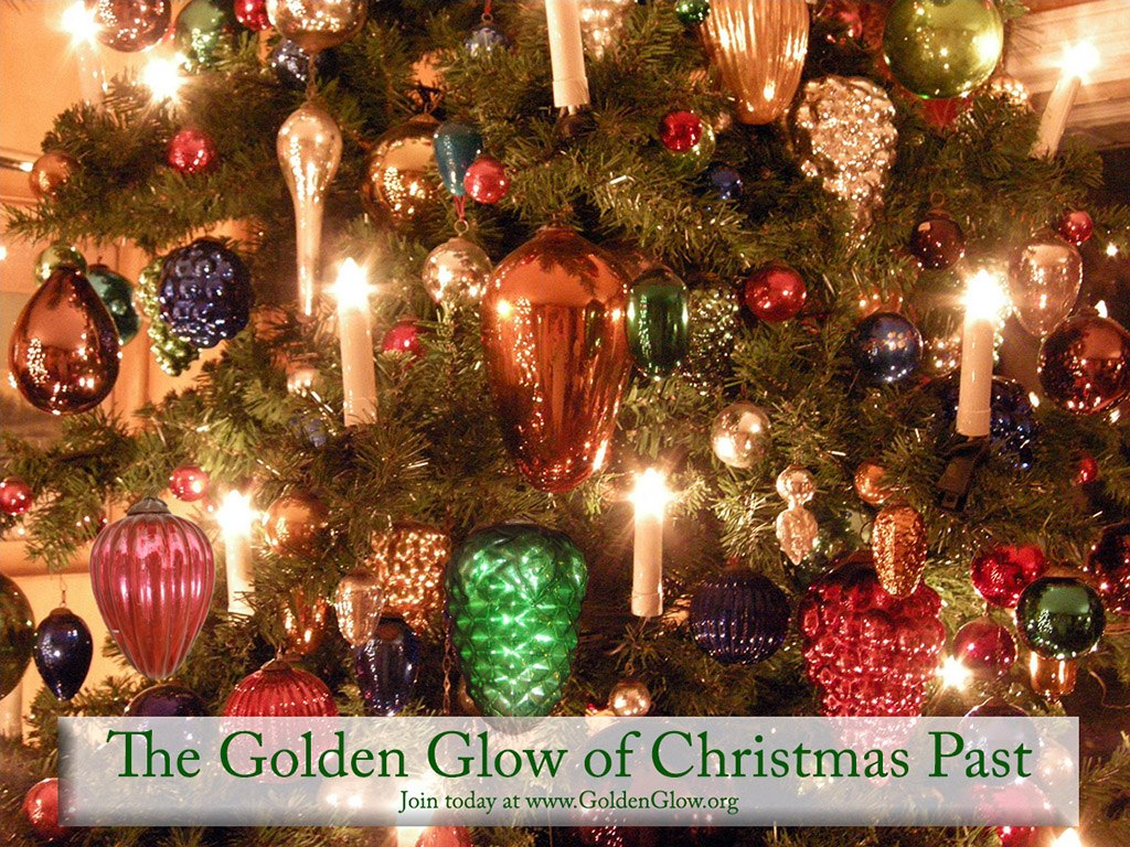 i hope to write a whole post about them soon and share more amazing photos of their members christmas collectibles you can visit their website here to - Golden Glow Of Christmas Past