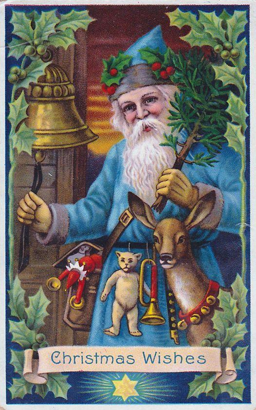 Santa Blue Coat