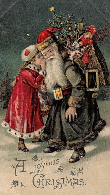 Santa in Black